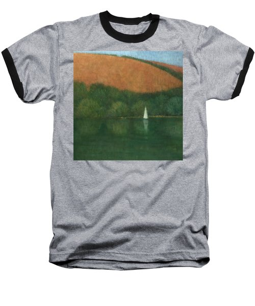 Sailing At Trelissick Baseball T-Shirt by Steve Mitchell