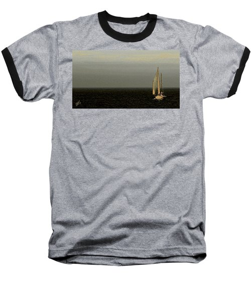 Baseball T-Shirt featuring the photograph Sailing by Ben and Raisa Gertsberg