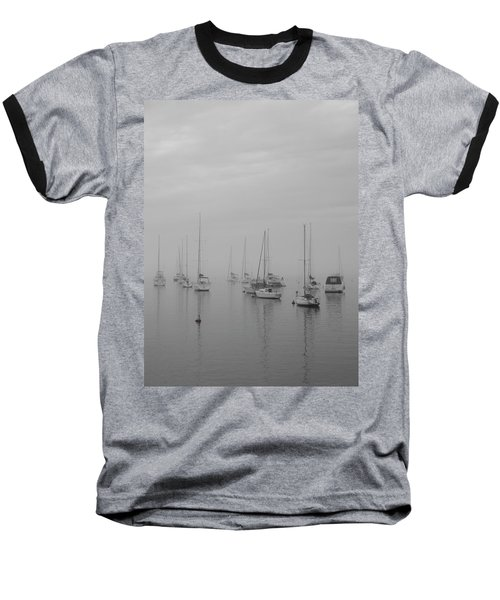 Sailing Bw Baseball T-Shirt
