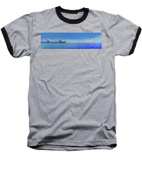 Sailing By San Clemente Baseball T-Shirt