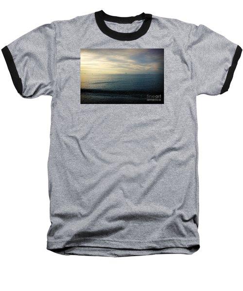 Baseball T-Shirt featuring the photograph Sailing Cedar by Paul Cammarata