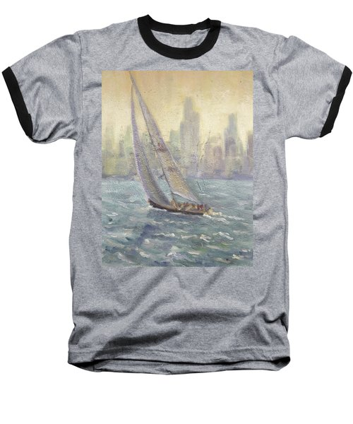 Sailing Chicago Baseball T-Shirt