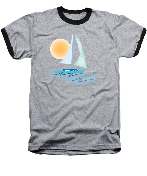 Sailing Day Baseball T-Shirt