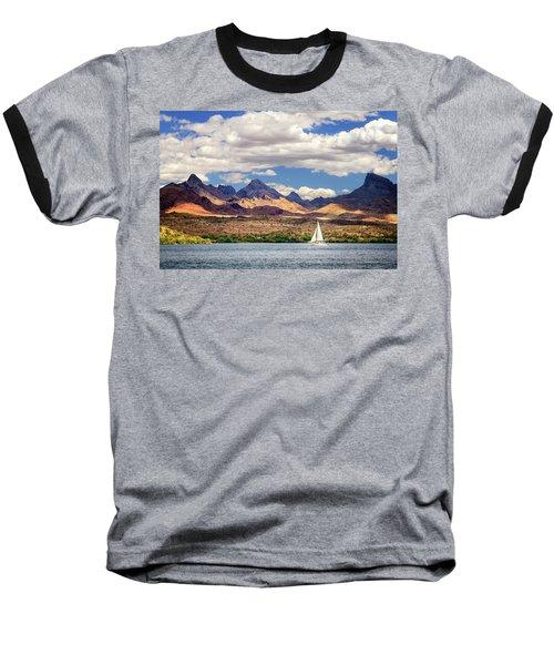 Sailing In Havasu Baseball T-Shirt