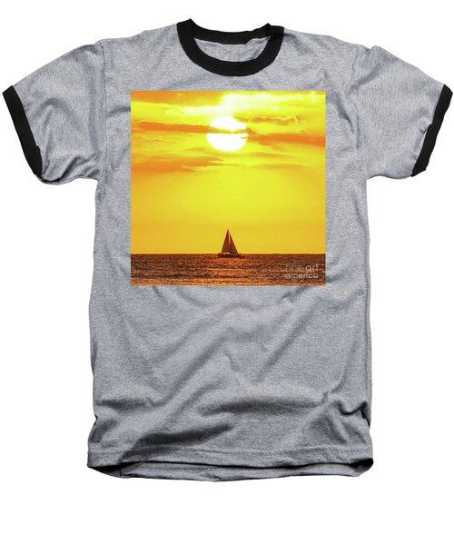Sailing In Hawaiian Sunshine Baseball T-Shirt