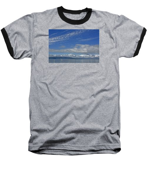 Sailing In The San Juan Islands Baseball T-Shirt