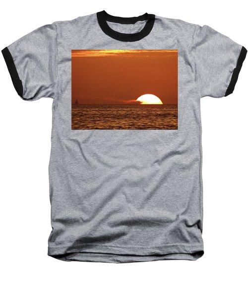 Sailing In The Sunset Baseball T-Shirt