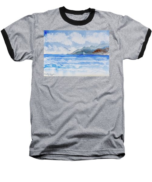 Sailing Into Moorea Baseball T-Shirt