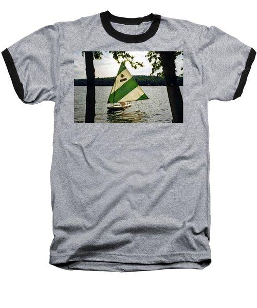 Sailing On Lake Dunmore No. 1 Baseball T-Shirt