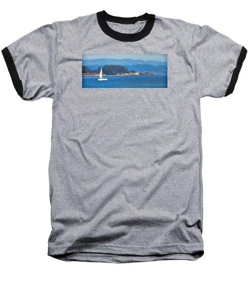 Sailing On The Monterey Bay Baseball T-Shirt