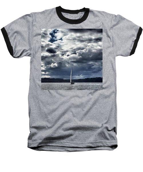 Sailing Puget Sound Baseball T-Shirt