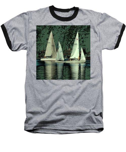 Sailing Reflections Baseball T-Shirt