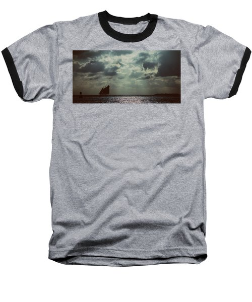 Sailing Baseball T-Shirt by Scott Meyer