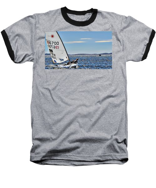 Sailing Ship  In Marseille Baseball T-Shirt