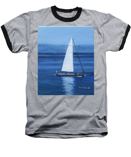 Sailing The Blues Baseball T-Shirt