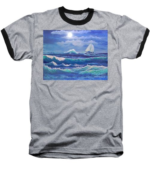Sailing The Caribbean Baseball T-Shirt
