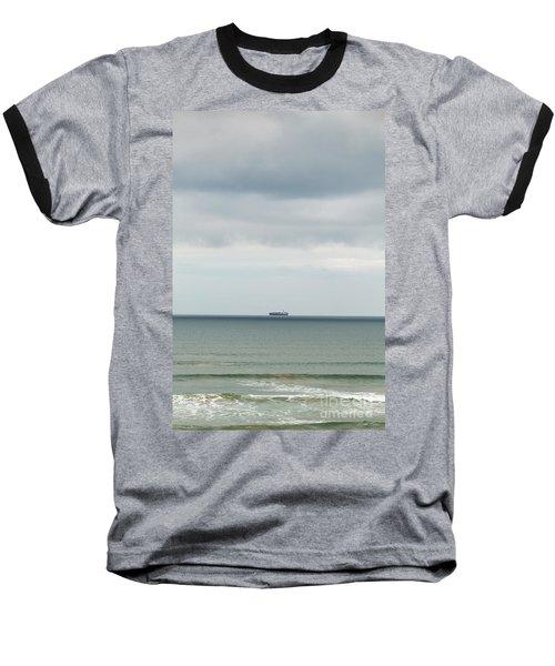 Baseball T-Shirt featuring the photograph Sailing The Horizon by Linda Lees