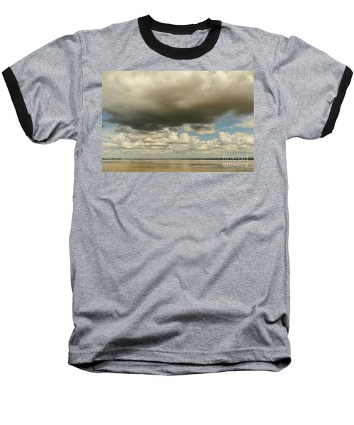 Baseball T-Shirt featuring the photograph Sailing The Irrawaddy by Werner Padarin