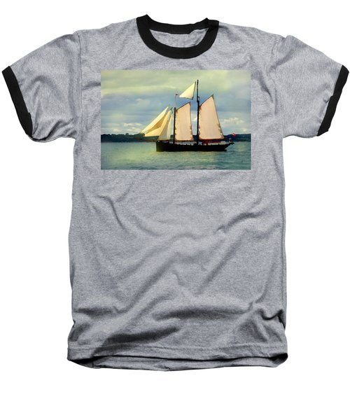 Sailing The Sunny Sea Baseball T-Shirt