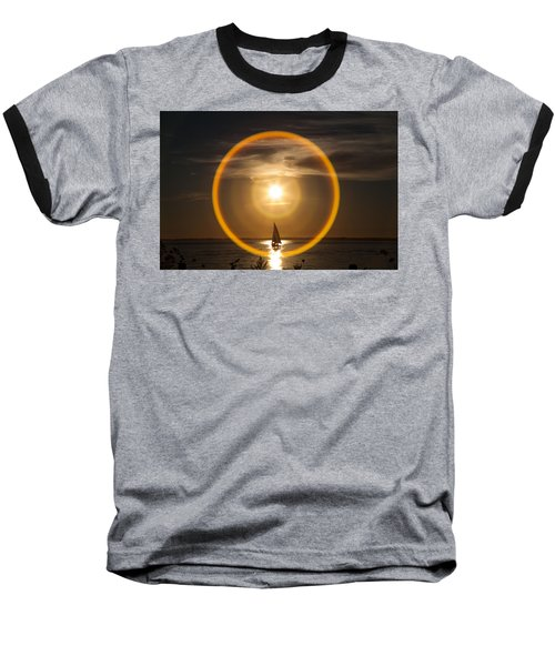 Sailing Through The Iris Baseball T-Shirt