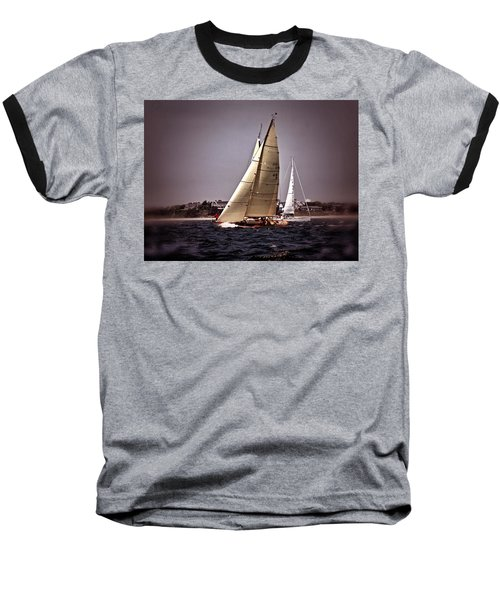 Sailing To Nantucket 005 Baseball T-Shirt