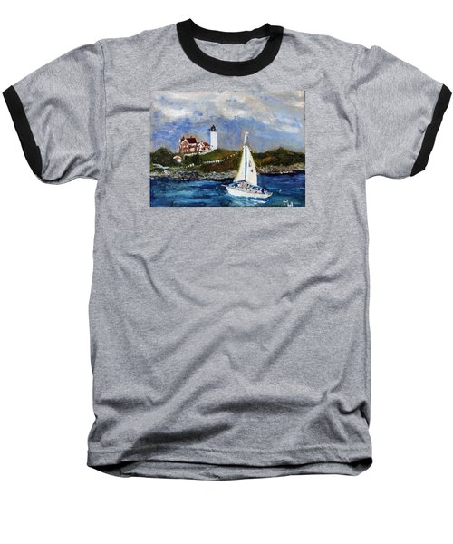 Sailing To Martha's Vineyard Baseball T-Shirt