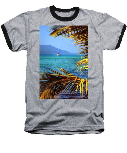 Baseball T-Shirt featuring the photograph Sailing Vacation by Alexey Stiop