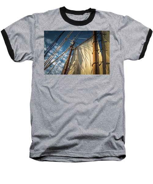 Sails In The Breeze Baseball T-Shirt