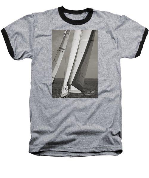 Sails Of A Sailboat Sailing Baseball T-Shirt