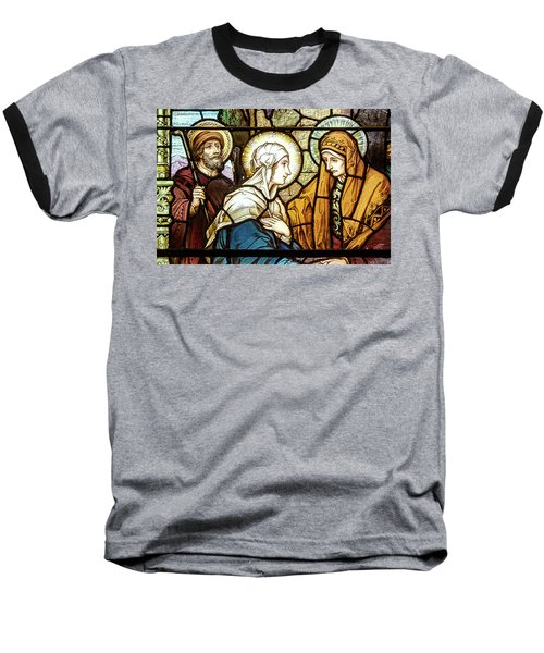 Saint Anne's Windows Baseball T-Shirt