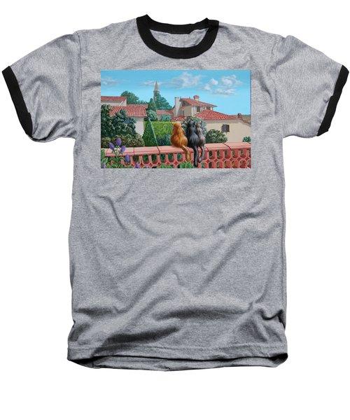Saint-frajou. August. Baseball T-Shirt