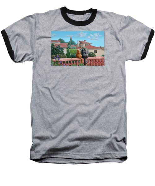 Saint-frajou. August. Baseball T-Shirt