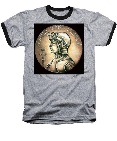 Saint Joan Of Arc Baseball T-Shirt