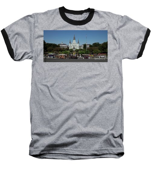 Saint Lewis Cathedral French Quarter New Orleans, La Baseball T-Shirt