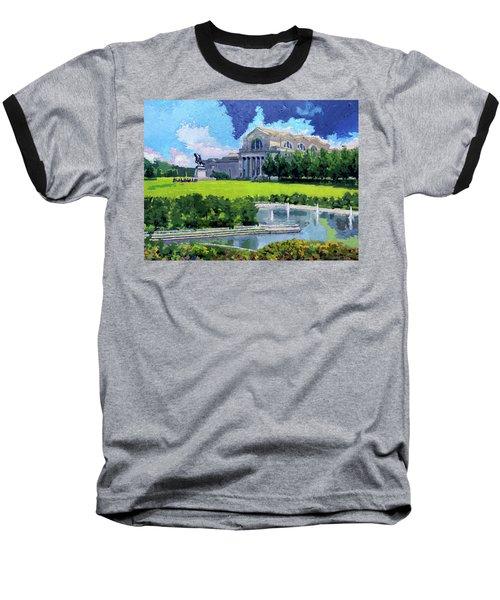 Saint Louis City Art Museum Baseball T-Shirt
