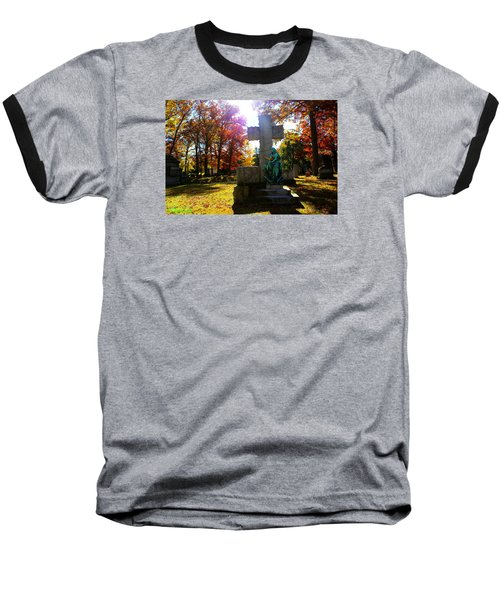 Baseball T-Shirt featuring the photograph Saint Mary by Michael Rucker