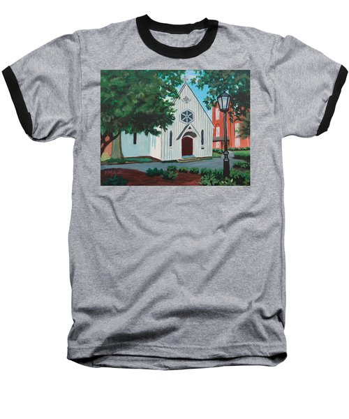 Saint Mary's Chapel Baseball T-Shirt
