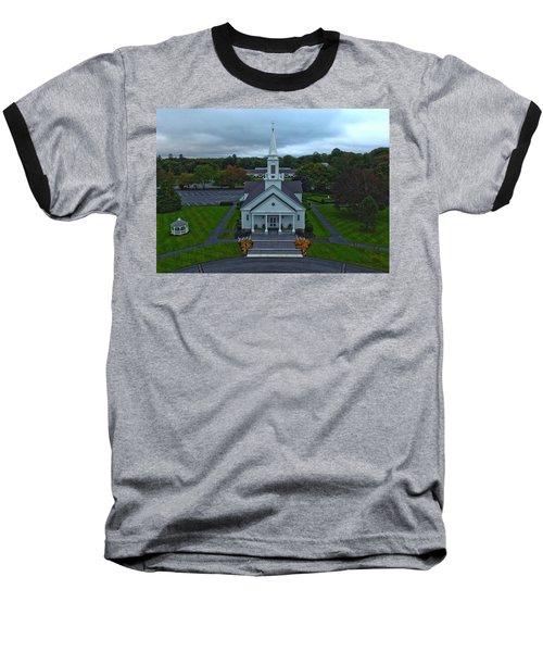 Saint Mary's Church From Above Baseball T-Shirt