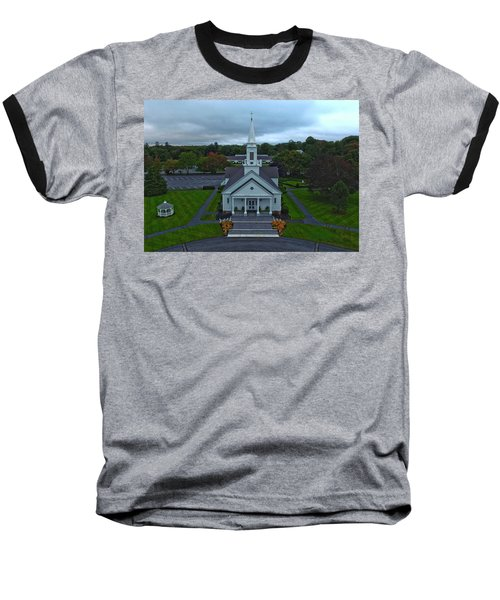 Saint Mary's Church From Above Baseball T-Shirt