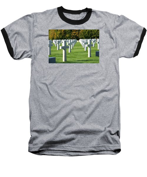 Saint Mihiel American Cemetery Baseball T-Shirt by Travel Pics