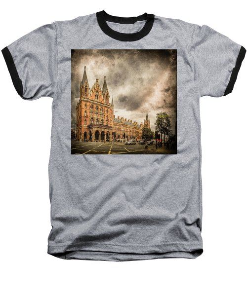 London, England - Saint Pancras Station Baseball T-Shirt