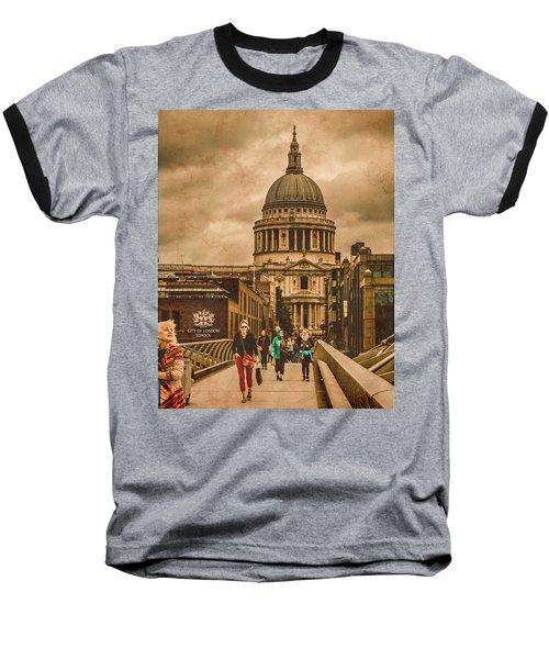 London, England - Saint Paul's In The City Baseball T-Shirt