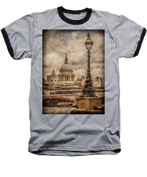 London, England - Saint Paul's Baseball T-Shirt