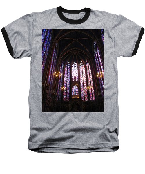 Baseball T-Shirt featuring the photograph Sainte-chapelle by Christopher Kirby