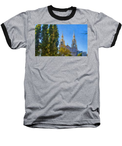 Saints Peter And Paul Church Baseball T-Shirt