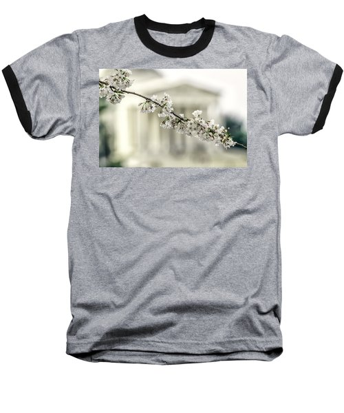 Sakura At The Basin Baseball T-Shirt