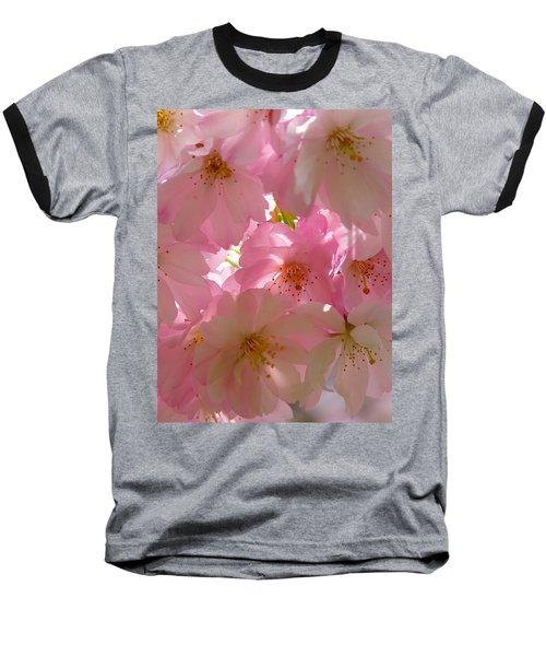 Sakura - Japanese Cherry Blossom Baseball T-Shirt