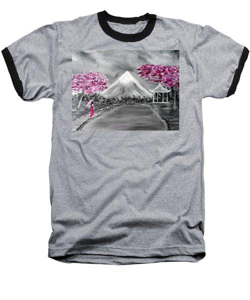 Sakura - Japanese Dreams Baseball T-Shirt