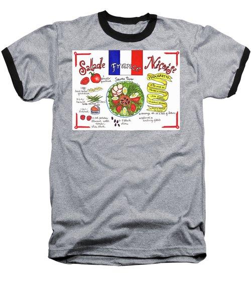 Salade Nicoise Baseball T-Shirt