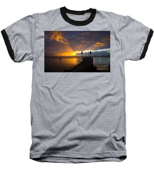 Salamander Bay Sunrise Baseball T-Shirt